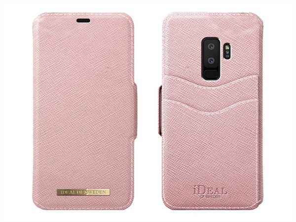 iDeal of Sweden Ideal Fashion Wallet Samsung Galaxy S9 Plus Pink