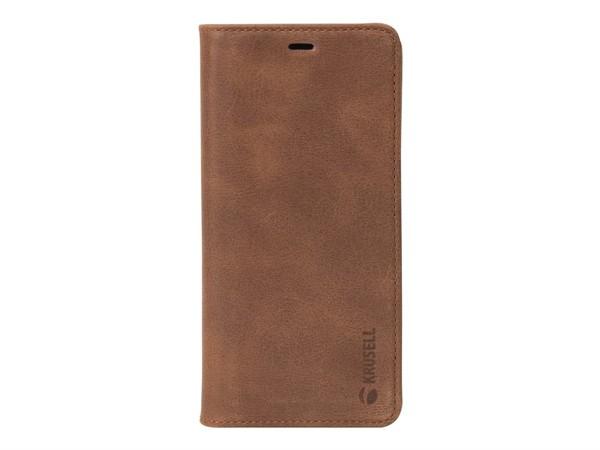 Krusell Sunne 2 Card Foliowallet Sony Xperia XZ2 Cognac