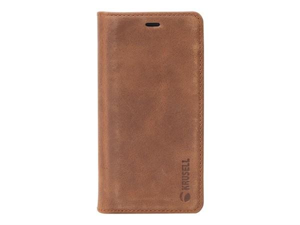 Krusell Sunne 2 Card Foliowallet Sony Xperia XZ2 Compact Cognac