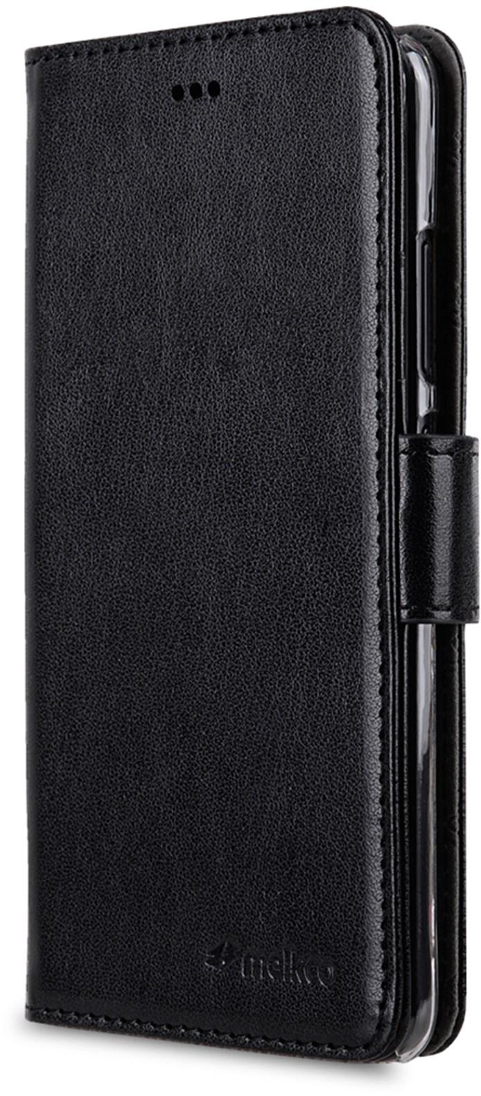 Melkco Walletcase Huawei P20 Lite Black