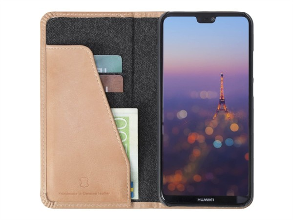 Krusell Sunne 2 Card Foliowallet Huawei P20 Lite Nude