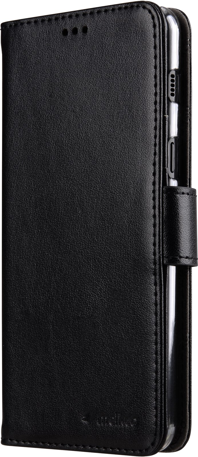 Melkco Walletcase Samsung Galaxy A6 Plus (2018) Black