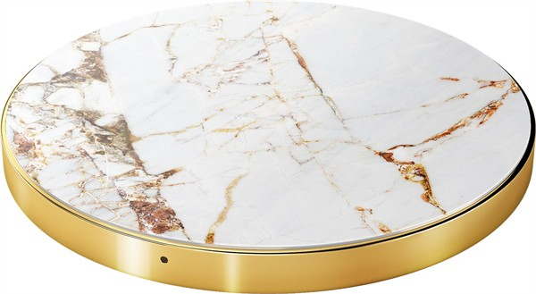 iDeal of Sweden Ideal Fashion QI Charger Carrara Gold Marble