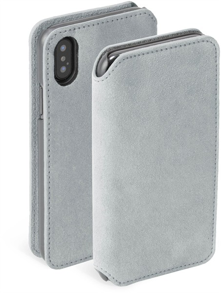 Krusell Broby 4 Card Slimwallet Iphone XS Max Grey