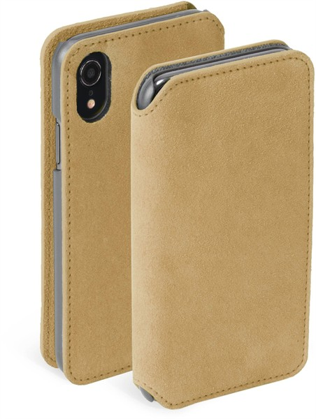 Krusell Broby 4 Card Slimwallet Iphone XR Cognac