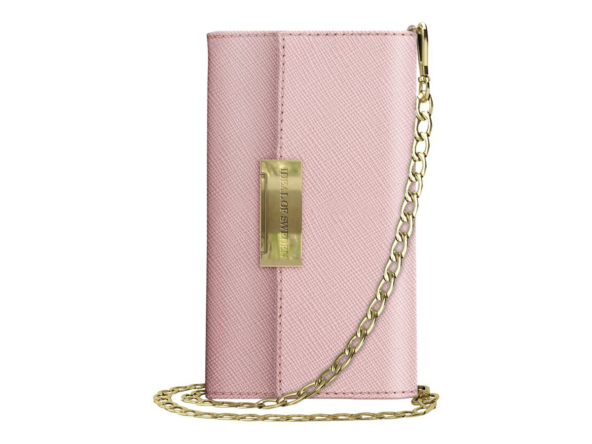 iDeal of Sweden Ideal Crossbody Wallet Saffiano Samsung Galaxy S10 Pink