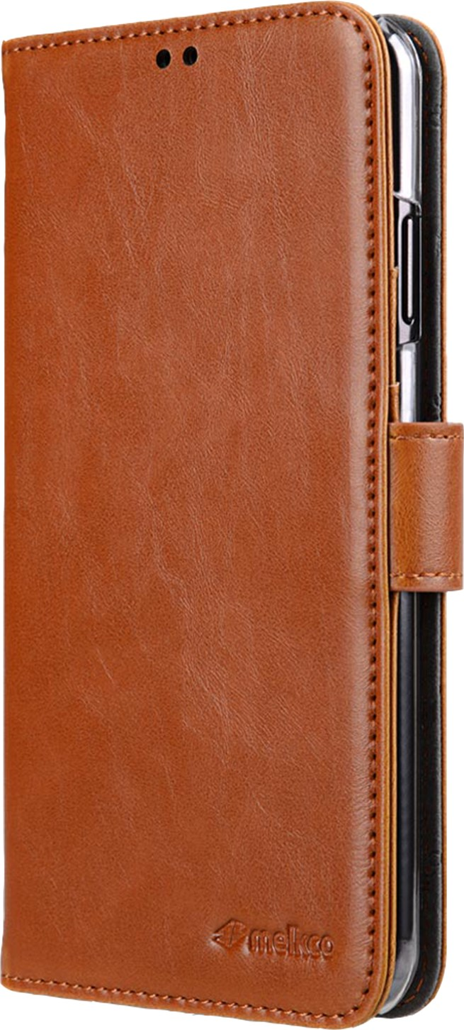Melkco Walletcase Samsung Galaxy S10 Plus Brown