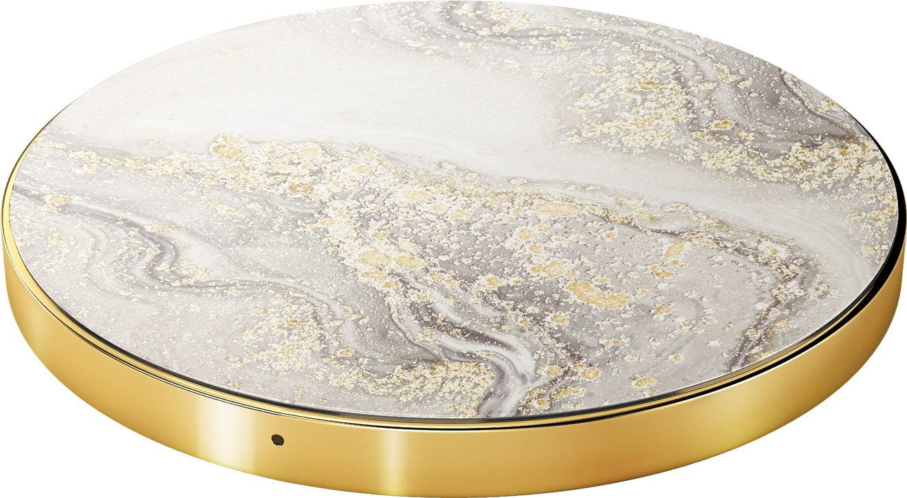 iDeal of Sweden Ideal Fashion Qi Charger Sparkle Greige Marble