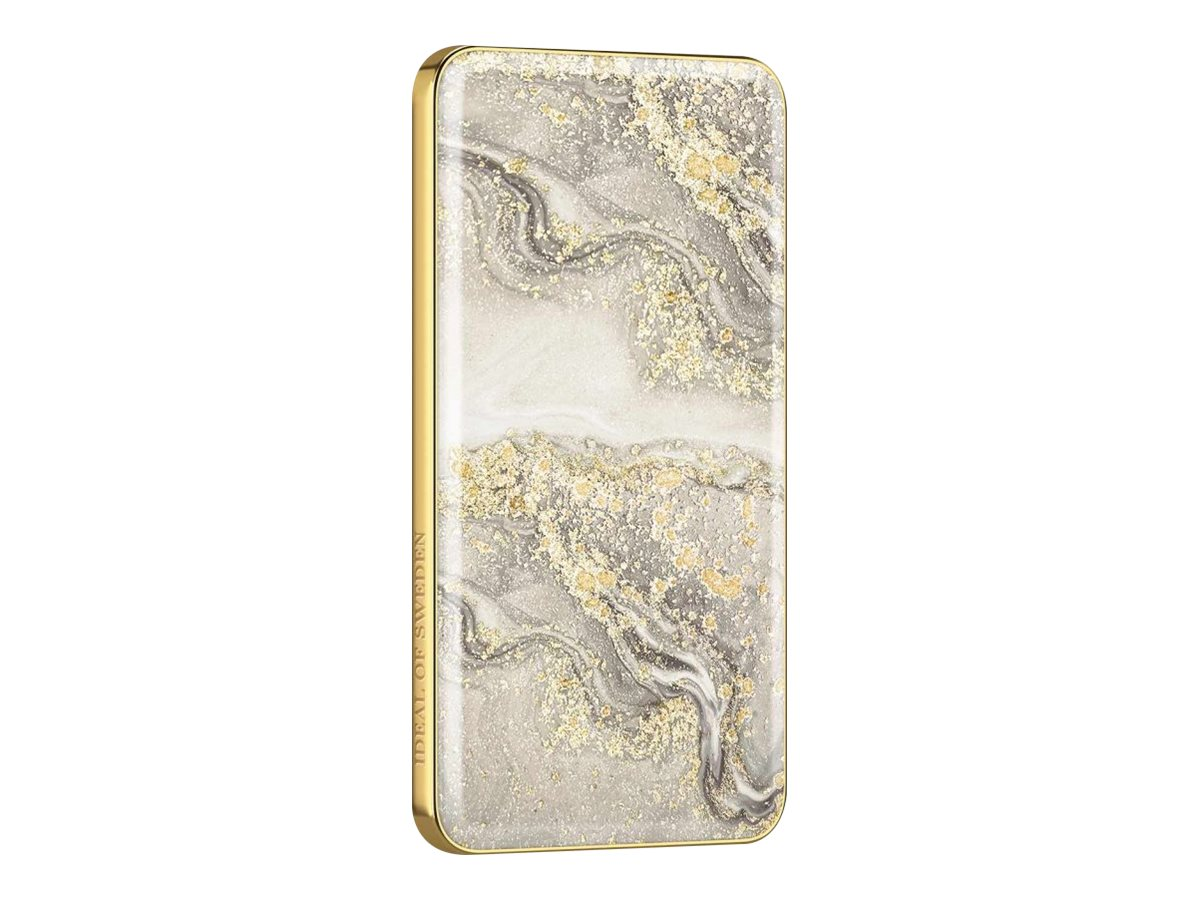 iDeal of Sweden Ideal Fashion Power Bank Sparkle Greige Marble