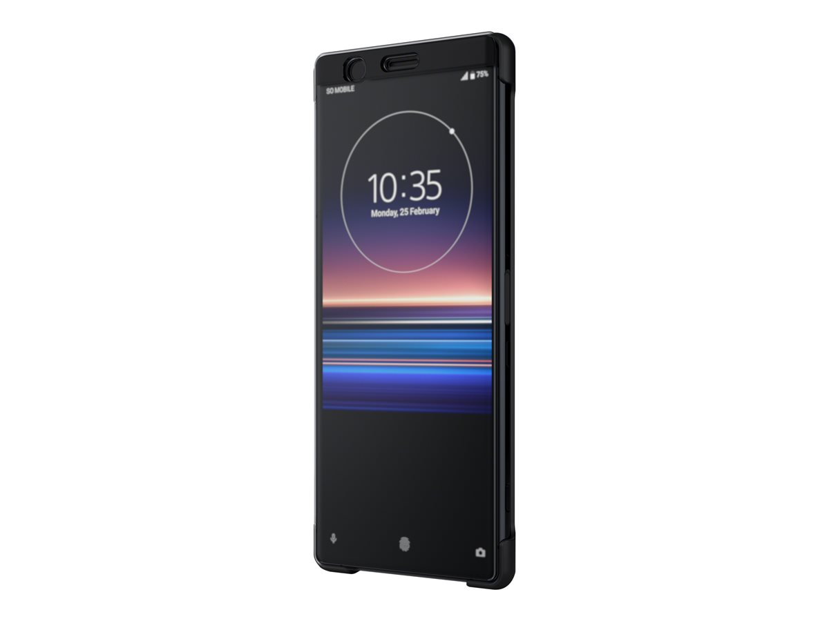 SONY Style Cover Touch SCTI30 Xperia 1 Black