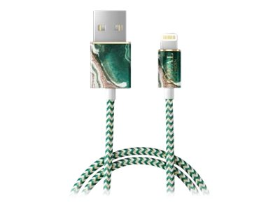 iDeal of Sweden Ideal Fashion Cable Lightning 1M Golden Jade Marble