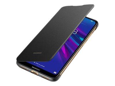 Huawei Flip Cover Y6 2019 Black