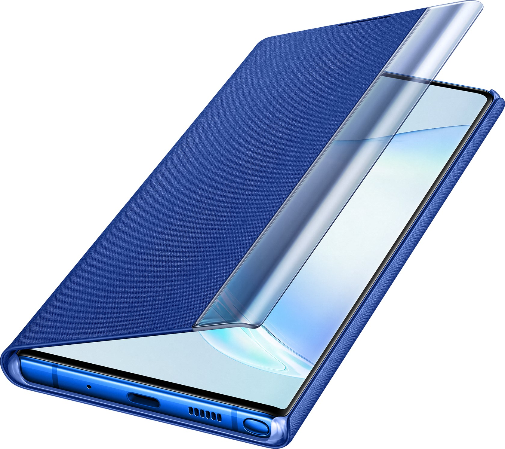 Samsung Clear View Cover Galaxy Note 10 Plus Blue Ef-Zn975clegww