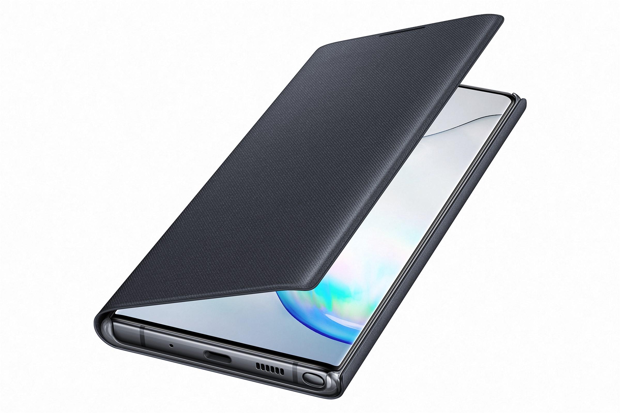 Samsung Led View Cover Galaxy Note 10 Plus Black Ef-Nn975pbegww