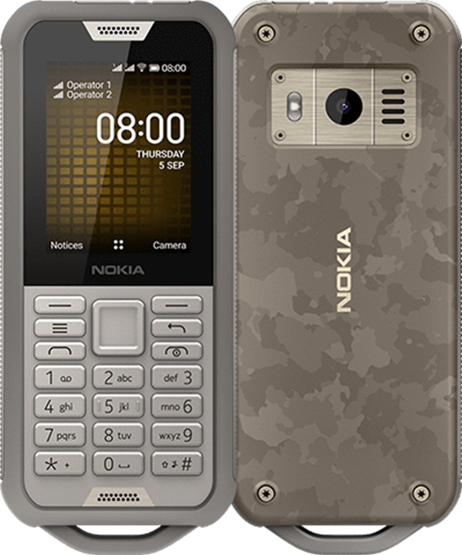 Nokia 800 Dualsim Sand