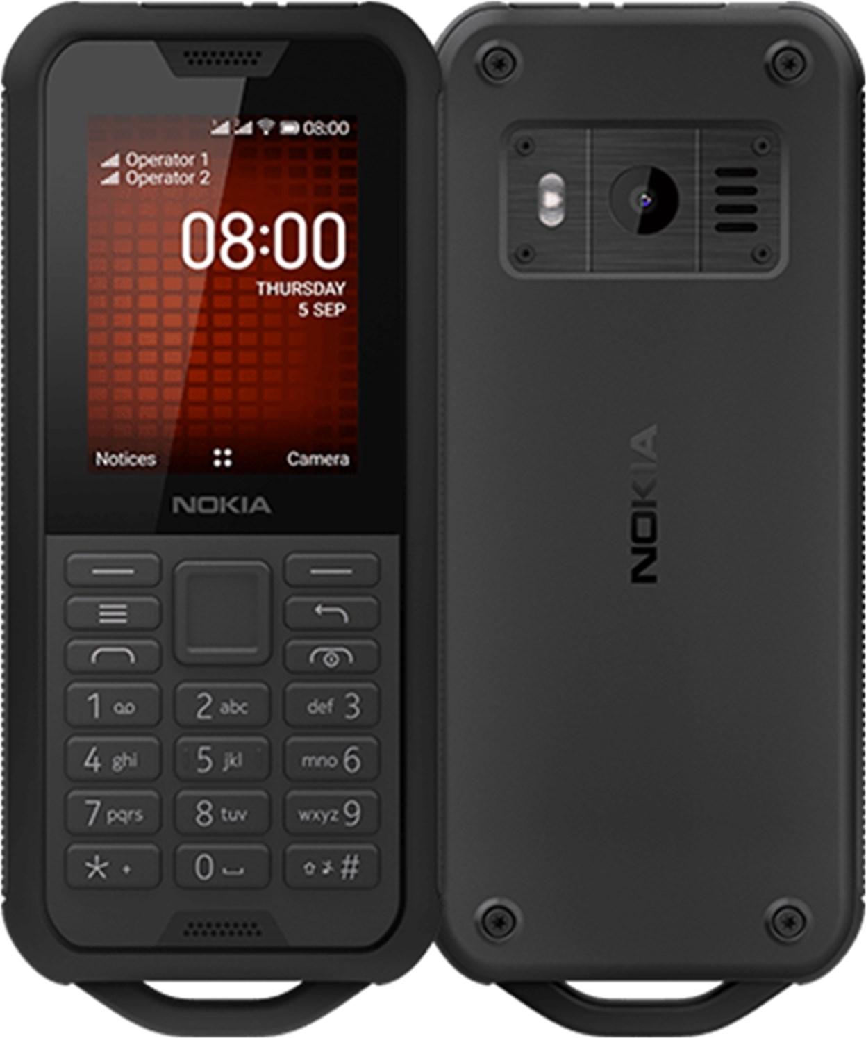 Nokia 800 Dualsim Black