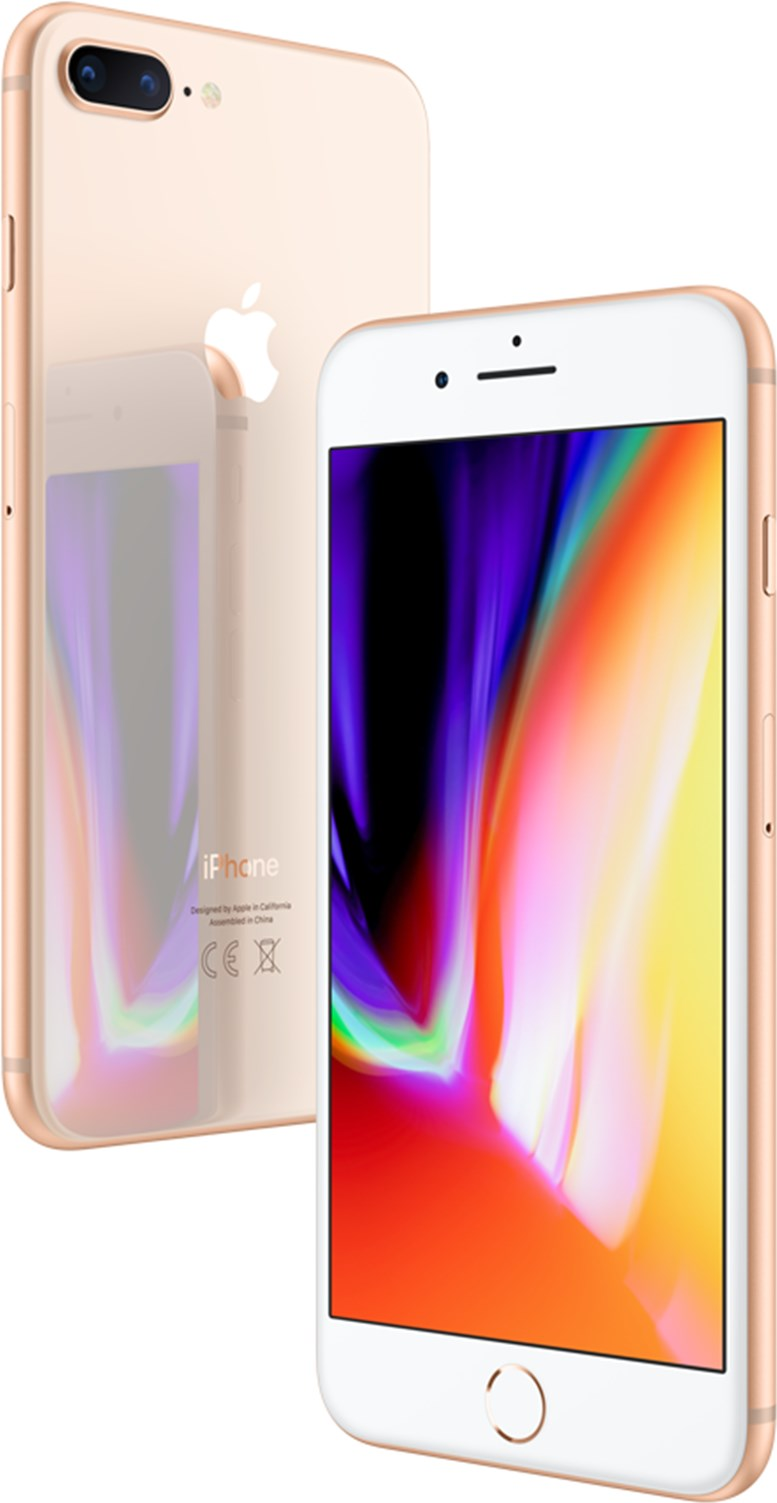 Apple Iphone 8 Plus 128Gb Gold Olåst