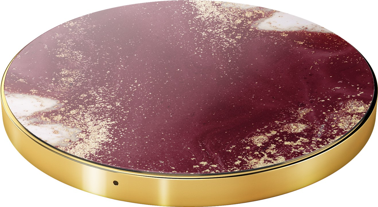 iDeal of Sweden Ideal Fashion Qi Charger Golden Burgundy Marble