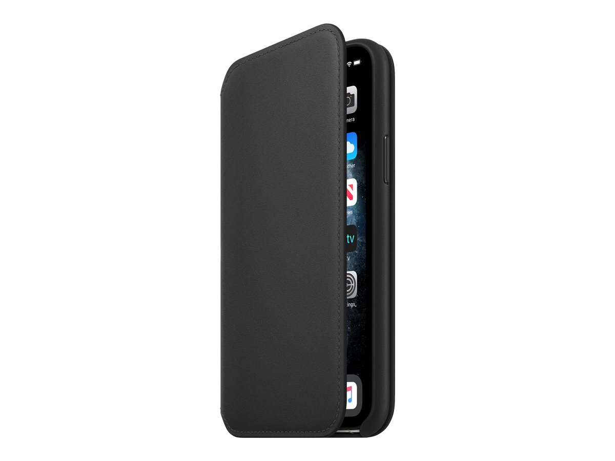 Apple Iphone 11 Pro Leather Folio Black