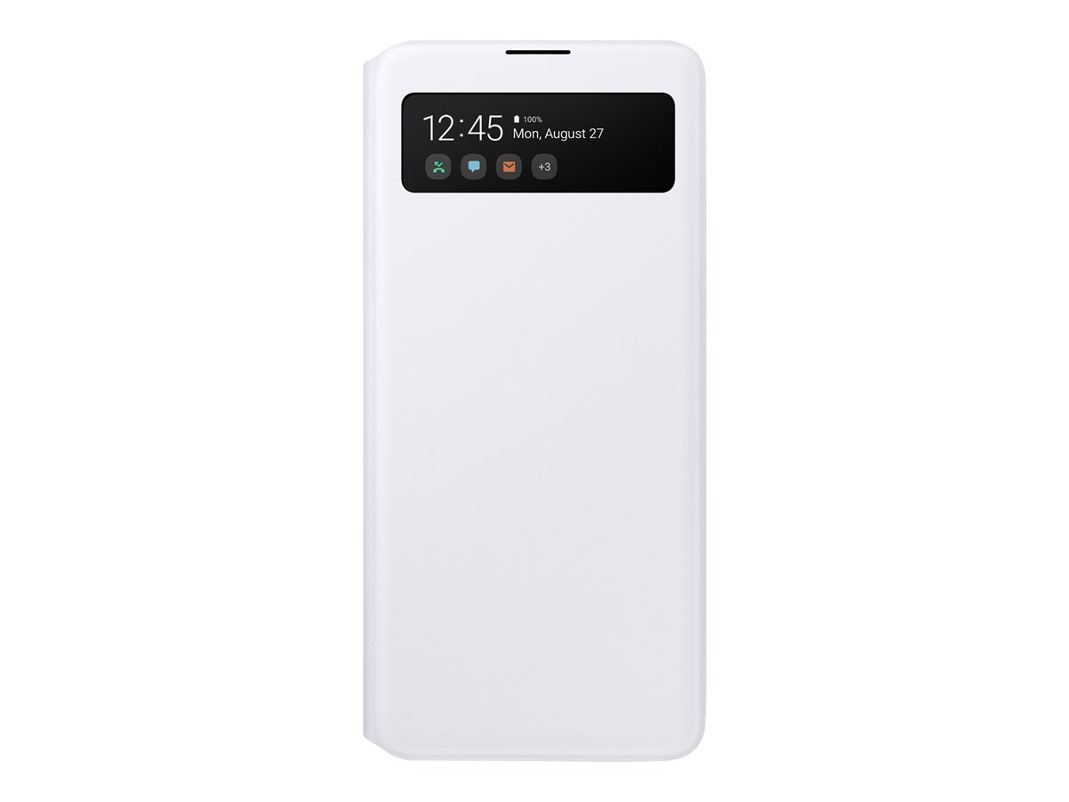Samsung S-View Wallet Cover Galaxy A51 White EF-EA515PWEGEU