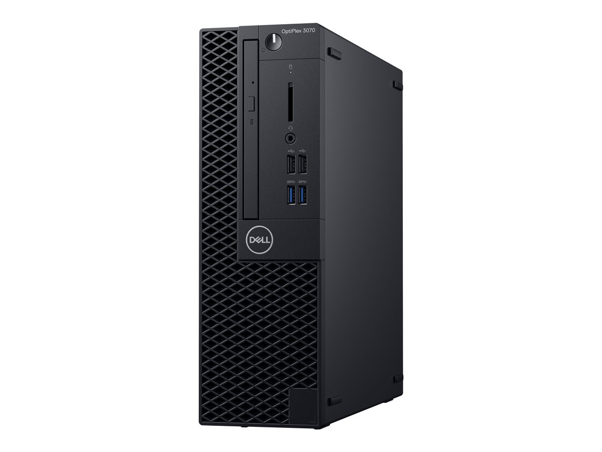 Dell Opti-3070 i5 8GB 256G WIN10p DVD+RW SFF
