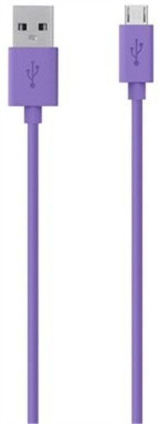 Belkin Micro-Usb Charge/Sync Cable 2M Purple