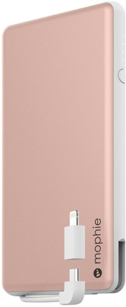 Mophie Powerstation Plus Mini Rose Gold 4000mAh W Cable