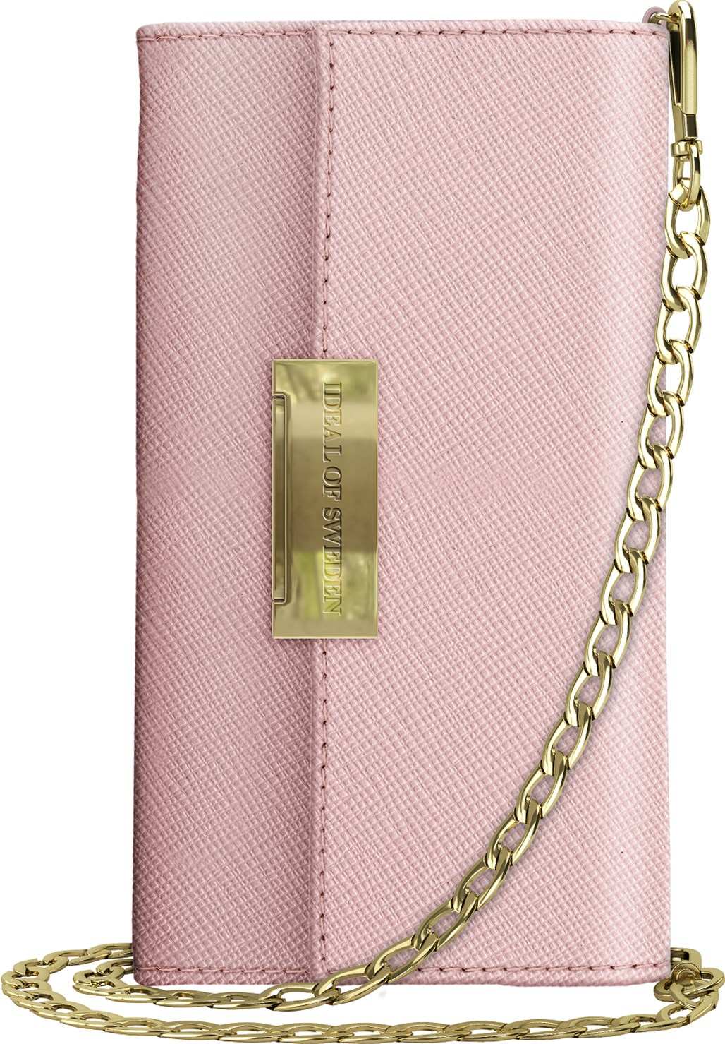 iDeal of Sweden Ideal Kensington Cross Body Clutch Iphone Xr Pink