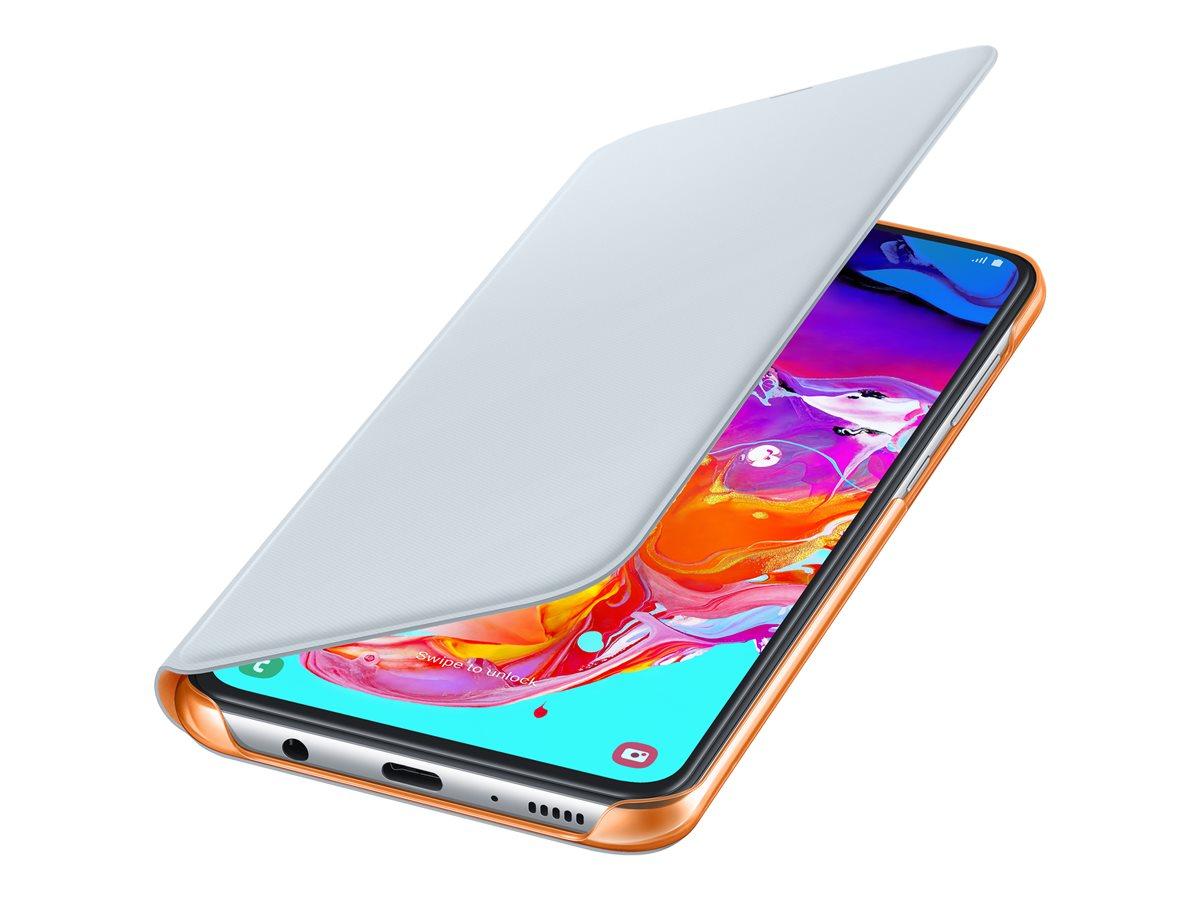 Samsung Wallet Cover Galaxy A70 White EF-WA705PWEGWW