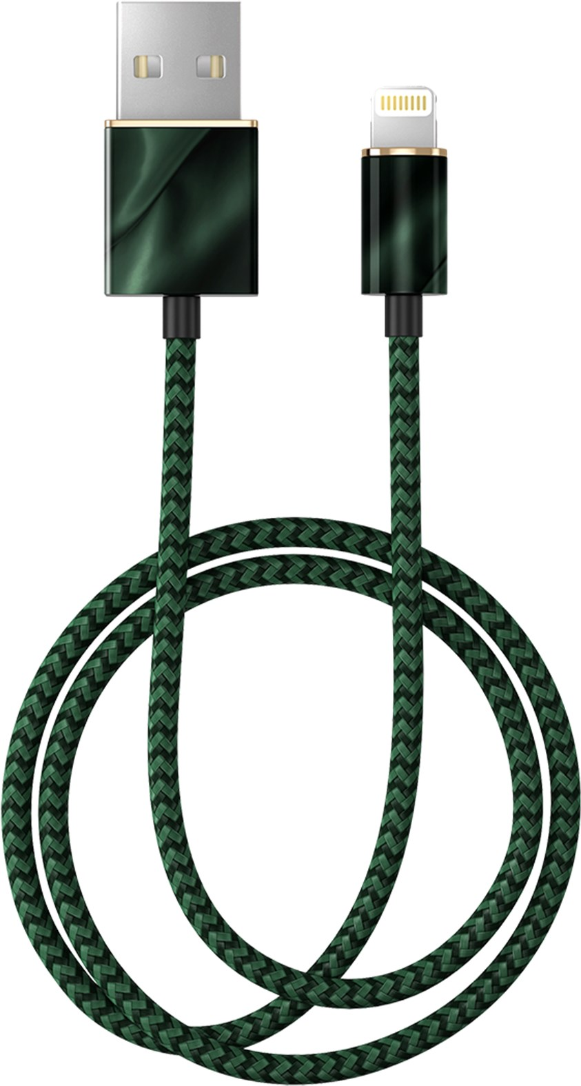 iDeal of Sweden Ideal Fashion Cable Lightning 1 M Emerald Satin