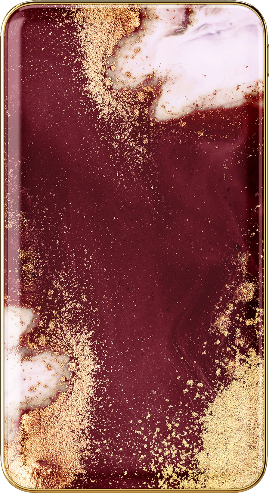 iDeal of Sweden Ideal Fashion Power Bank Golden Burgundy Marble