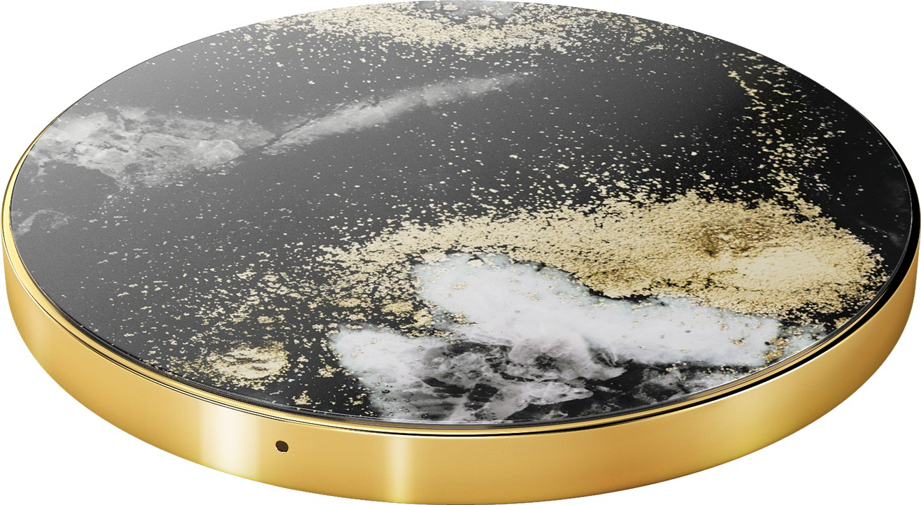 iDeal of Sweden Ideal Fashion Qi Charger Black Galaxy Marble